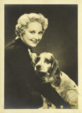 """Movie Posters:Rock and Roll, Thelma Todd Personality Still by Bud """"Stax"""" Graves (MGM, 1930s).Autographed Still (5"""" X 7"""")...."""