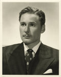 """Movie Posters:Adventure, Errol Flynn Publicity Still by George Hurrell (MGM, Late 1940s).(11"""" X 14"""")...."""