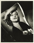 """Movie Posters:Crime, It All Came True (Warner Brothers, 1940). Ann Sheridan Publicity Still by George Hurrell (8"""" X 10"""")...."""