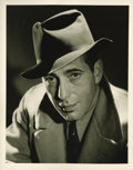 "Movie Posters:Miscellaneous, Humphrey Bogart Still by George Hurrell (Warner Brothers, circa1940). (8"" X 10"")...."