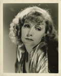 "Movie Posters:Drama, Greta Garbo Publicity Still by Clarence Bull (MGM, 1931). Still (8""X 10""). ..."