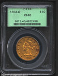Liberty Eagles: , 1853-O $10