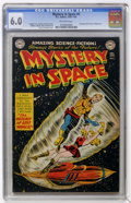 Golden Age (1938-1955):Science Fiction, Mystery in Space #5 (DC, 1952) CGC FN 6.0 Off-white pages....