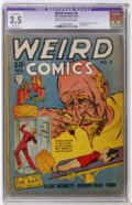 Golden Age (1938-1955):Horror, Weird Comics #5 (Fox Features Syndicate, 1940) CGC Apparent VG- 3.5Slight (A) Cream to off-white pages....