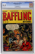 Golden Age (1938-1955):Horror, Baffling Mysteries #12 (Ace, 1952) CGC FN- 5.5 Cream to off-whitepages....