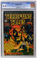 Golden Age (1938-1955):Horror, Terrifying Tales #13 (Star Publications, 1953) CGC FN+ 6.5 Cream tooff-white pages....