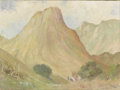 Texas:Early Texas Art - Regionalists, HARRY ANTHONY DEYOUNG (1893-1956). Rock Mountain. Oil oncanvas. 18in. x 24in.. Signed lower left. Signed verso. DeYou...