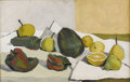 Fine Art - Painting, American:Modern  (1900 1949)  , ALFREDO ZALCE (Mexican 1908-2003). Naturaleza Muerta, 1943.Oil on canvas. 16-1/2 x 26 inches (41.9 x 66 cm). Signed an...