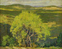 HARRY ANTHONY DEYOUNG (1893-1956) The Yellow Green Tree, 1930 Oil on canvas 16in. x 20in. Signed, dated, and titled
