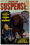 Silver Age (1956-1969):Horror, Tales of Suspense #5 (Marvel, 1959) Condition: VG/FN.... (Total: 0)