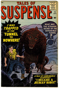 Tales of Suspense #5 (Marvel, 1959) Condition: VG/FN.... (Total: 0)