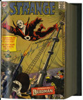Silver Age (1956-1969):Science Fiction, Strange Adventures/Challengers of the Unknown Bound Volume (DC,1967-71)....