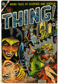 Golden Age (1938-1955):Horror, The Thing! #12 (Charlton, 1954) Condition: VG+....