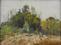 Texas:Early Texas Art - Impressionists, JESSIE WALTON (1904-1993). Untitled. Pastel (Frank Reaugh Method).8 1/2in. x 11/1/4in.. Signed lower left. Jessee Walton ...