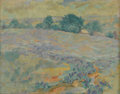 "Texas:Early Texas Art - Impressionists, GRACE SPAULDING JOHN (1890-1972). ""Where Winds the Blue FromUpland Vale"" -- Blake, late 1920s to early 1930s. Oil on li..."