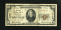National Bank Notes:Colorado, Salida, CO - $20 1929 Ty. 1 The First NB Ch. # 4172. Colorado is atougher state for nationals and this Very Good+ $...