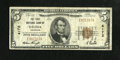 National Bank Notes:Colorado, Salida, CO - $5 1929 Ty. 1 The First NB Ch. # 4172. Only four Type1 $5 notes are currently known for the bank with this...