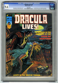 Dracula Lives! #10 (Marvel, 1975) CGC NM+ 9.6 White pages