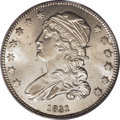Bust Quarters: , 1831 25C Small Letters MS65 PCGS. B-2, R.2. A highly lustrous Gem, this piece has brilliant silver luster with satiny surfa...