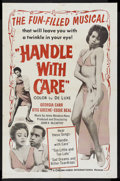 """Movie Posters:Black Films, Handle With Care (Cinema-Video International, 1964). One Sheet (27""""X 41""""). Musical Comedy. Starring Georgia Carr, Otis Gree..."""
