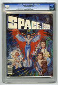 Magazines:Science-Fiction, Space: 1999 #8 (Charlton, 1976) CGC NM- 9.2 Off-white pages....