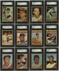 Baseball Cards:Sets, 1962 Topps Baseball High Grade Complete Set (598). Easilyidentified by its distinctive wood-grain design, the 1962 Toppsis...