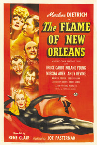"The Flame of New Orleans (Universal, 1941). One Sheet (27"" X 41"")"
