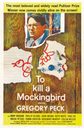 "Movie Posters:Drama, To Kill a Mockingbird (Universal, 1963). One Sheet (27"" X 41"")...."