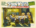 "Movie Posters:Animated, Snow White and the Seven Dwarfs (RKO, 1937). Lobby Card (11"" X14"")...."