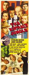 "Movie Posters:Film Noir, The Asphalt Jungle (MGM, 1950). Insert (14"" X 36"")...."