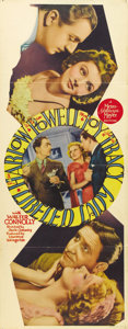 "Movie Posters:Comedy, Libeled Lady (MGM, 1936). Insert (14"" X 36"")...."