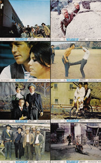 """Butch Cassidy and the Sundance Kid (20th Century Fox, 1969). Color Still Set (8) (8"""" X 10"""").... (Total: 8 Item..."""
