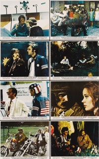 """Easy Rider (Columbia, 1969). Color Still Set of 8 (8"""" X 10"""").... (Total: 8 Items)"""