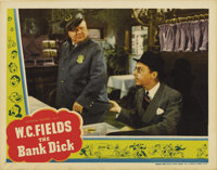 "The Bank Dick (Universal, 1940). Lobby Card (11"" X 14"")"