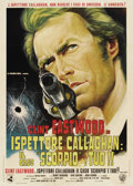 "Movie Posters:Crime, Dirty Harry (Warner Brothers, 1971). Italian 2 - Folio (39"" X55"")...."
