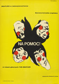 "Movie Posters:Rock and Roll, Help! (United Artists, 1967). Polish One Sheet (23"" X 33"")...."
