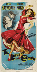 "Movie Posters:Drama, The Loves of Carmen (Columbia, 1948). Three Sheet (41"" X 81"").. ..."