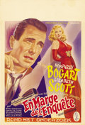 "Movie Posters:Film Noir, Dead Reckoning (Columbia, 1947). Belgian (15"" X 22"")...."