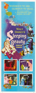 "Movie Posters:Animated, Sleeping Beauty (Buena Vista, 1959). Insert (14"" X 36"")...."