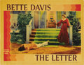 "Movie Posters:Film Noir, The Letter (Warner Brothers, 1940). Lobby Card (11"" X 14"")...."