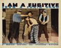 "Movie Posters:Film Noir, I Am a Fugitive From a Chain Gang (Warner Brothers, 1932). Lobby Card (11"" X 14"")...."