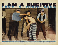 """I Am a Fugitive From a Chain Gang (Warner Brothers, 1932). Lobby Card (11"""" X 14"""")"""