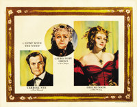 """Gone with the Wind (MGM, 1939). Lobby Cards (2) (11"""" X 14"""").... (Total: 2 Items)"""