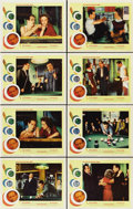 "Movie Posters:Sports, The Hustler (20th Century Fox, R-1964). Lobby Card Set of 8 (11"" X14"").... (Total: 8 Items)"