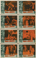 "Movie Posters:Horror, Bride of the Monster (Filmmakers Releasing, 1956). Lobby Card Setof 8 (11"" X 14"").... (Total: 8 Items)"