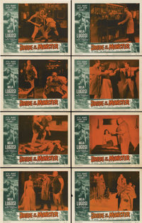"""Bride of the Monster (Filmmakers Releasing, 1956). Lobby Card Set of 8 (11"""" X 14"""").... (Total: 8 Items)"""