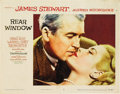 "Movie Posters:Hitchcock, Rear Window (Paramount, 1954). Lobby Card (11"" X 14"")...."