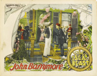 """The Sea Beast (Warner Brothers, 1926). Lobby Cards (2) (11"""" X 14"""").... (Total: 2 Items)"""