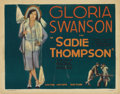 "Movie Posters:Drama, Sadie Thompson (United Artists, 1928). Title Lobby Card (11"" X14"")...."