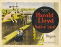 "Movie Posters:Comedy, Safety Last! (Pathé, 1923). Title Lobby Card (11"" X 14"")...."